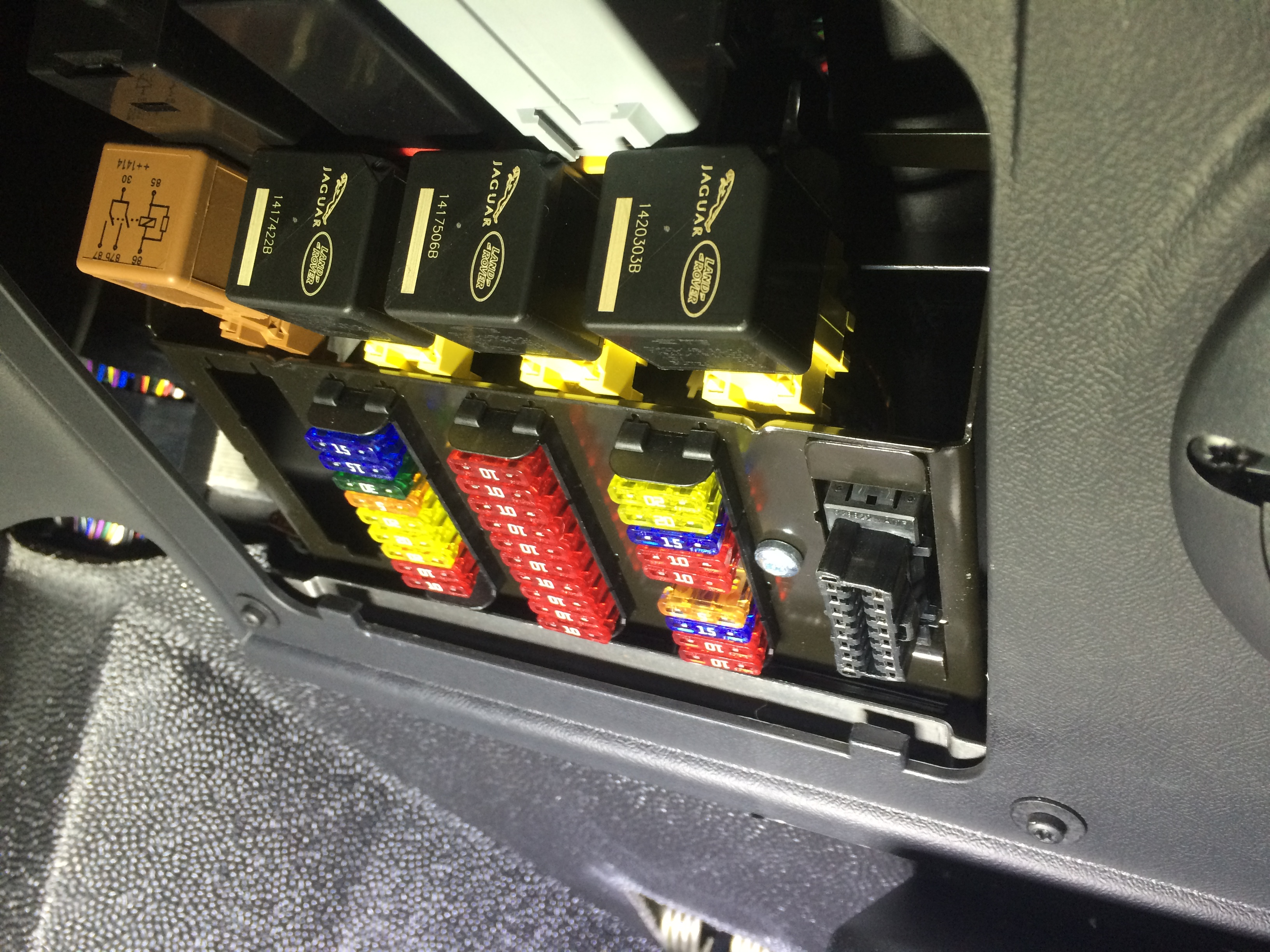 Range Rover Fuse Box Location